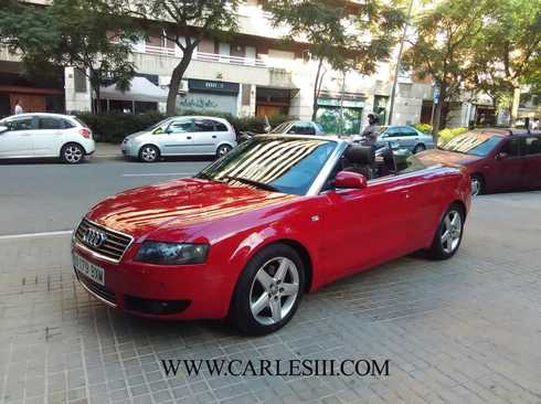 audi a4 cabrio segunda mano coches audi a4 cabrio de ocasi n. Black Bedroom Furniture Sets. Home Design Ideas